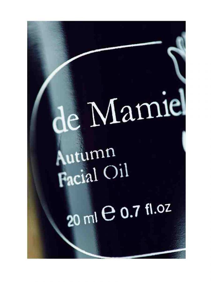 De Mamiel Autumn Facial Oil Gesichtsoel Herbst ml