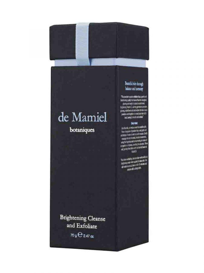 De Mamiel Brightening Cleanse and Exfoliate Peeling und Reinigung g