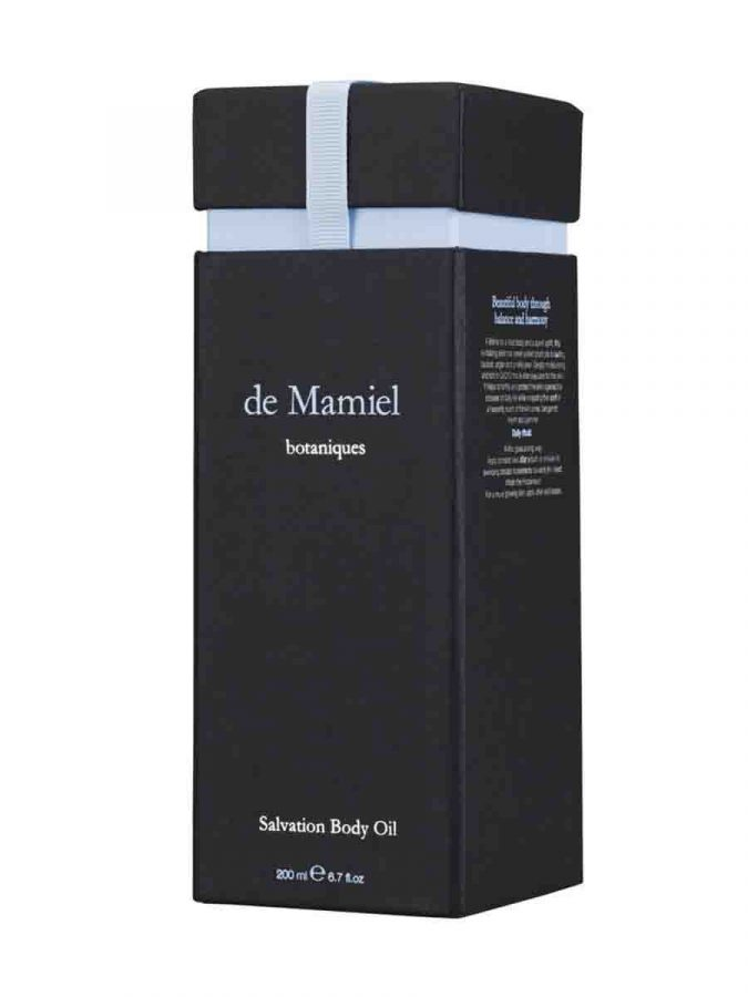 De Mamiel Salvation Body Oil Koerperoel ml