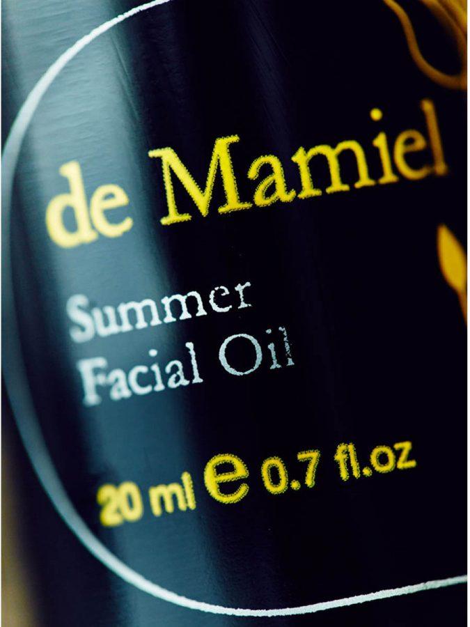 De Mamiel Summer Facial Oil Gesichtsoel Sommer ml