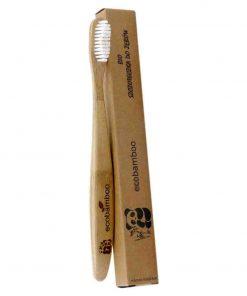 Bambus Zahnbürste mit mittleren Borsten