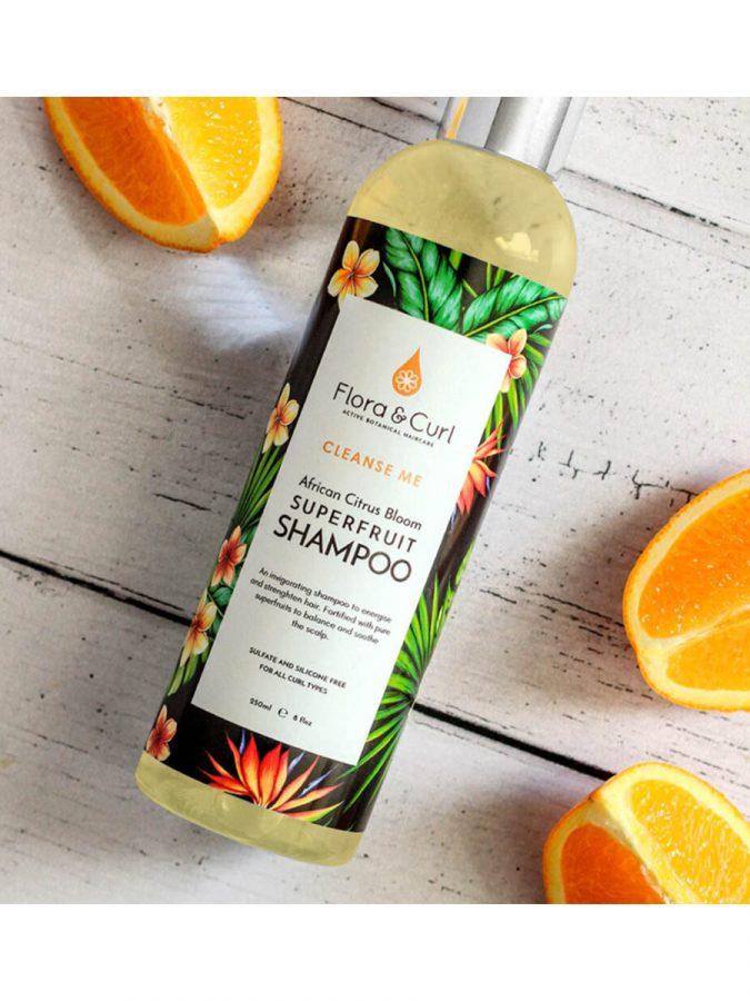 Flora und Curl African Citrus Superfruit Shampoo ml Flora und Curl