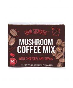 Mushroom Coffee mit Cordyceps & Chaga Pilz-Kaffee 10 x 2.5g