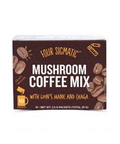 Mushroom Coffee mit Lion's Mane & Chaga Pilz-Kaffee 10 x 2.5g