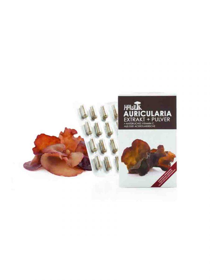 Auricularia Extrakt + Pulver in Kapselform 120 Kapseln