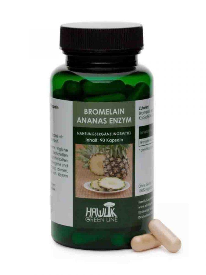Bromelain Ananas Enzym in Kapselform 90 Kapseln