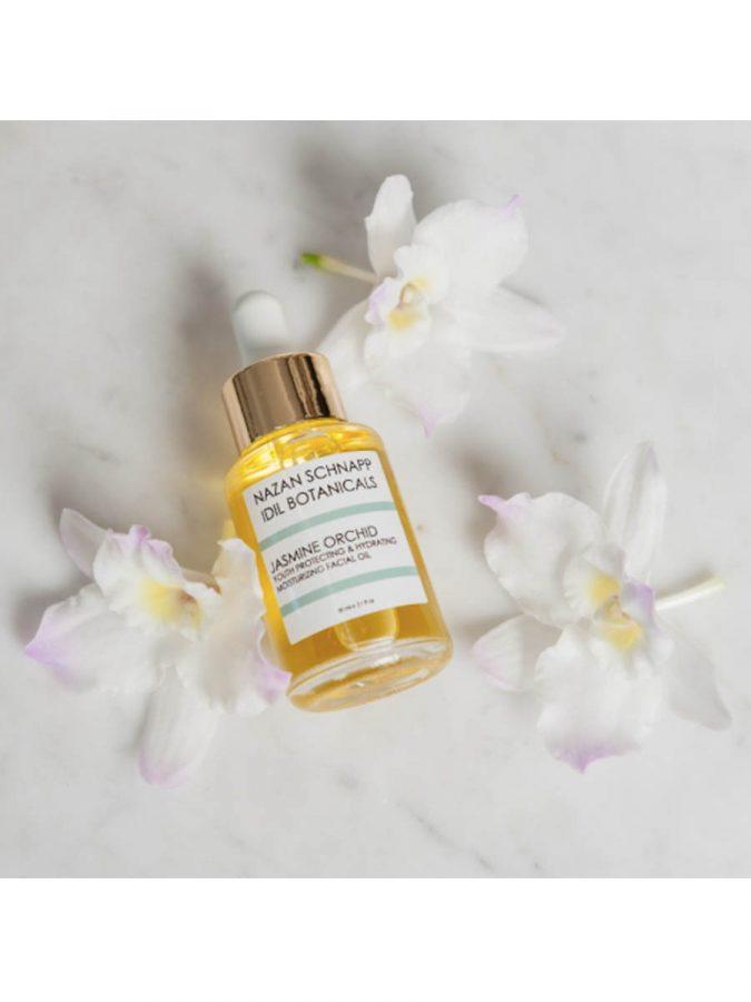 IDIL BOTANICALS Jasmine Orchid Youth Protecting und Hydrating Moisturizing Facial Oil ml Nazan Schnapp