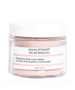 Renewing Pink Clay Mask Rose Quartz und Chamomille 60g Nazan Schnapp