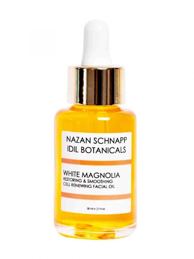 White Magnolia Restoring und Smoothing Cell Renewing Facial Oil 30ml Nazan Schnapp