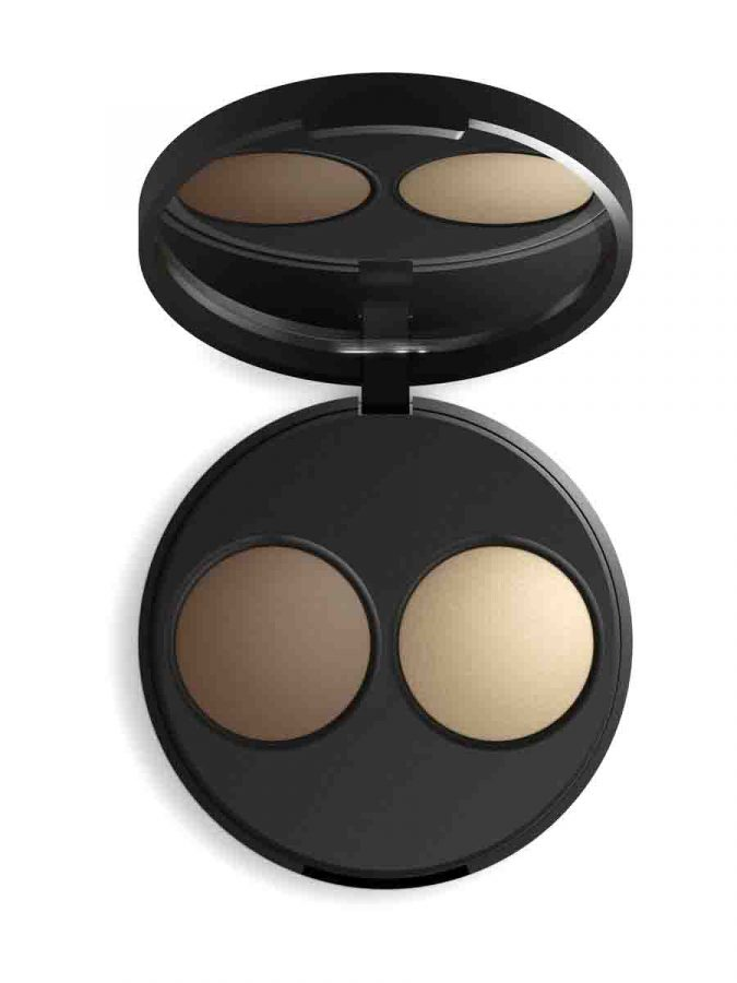 Baked Mineral Contour Duo Almond