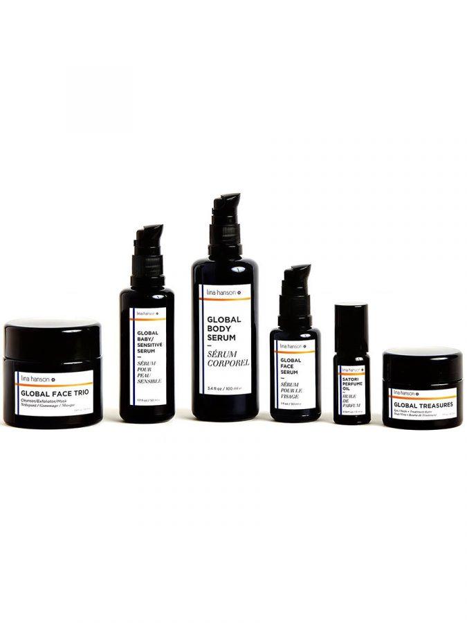 Lina Hanson Global Body Serum Koerperoel Serum Deluxe Mini ml