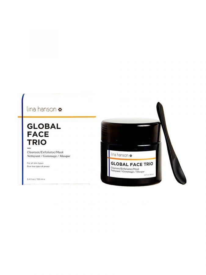 Global Face Trio Peeling Maske & Reinigung Deluxe Mini 30ml