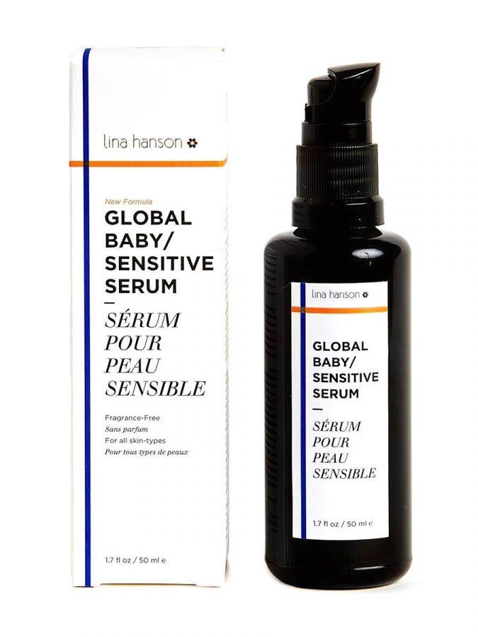 Global Sensitive Serum Ölserum für Gesicht Körper & Babies Deluxe Mini 10ml