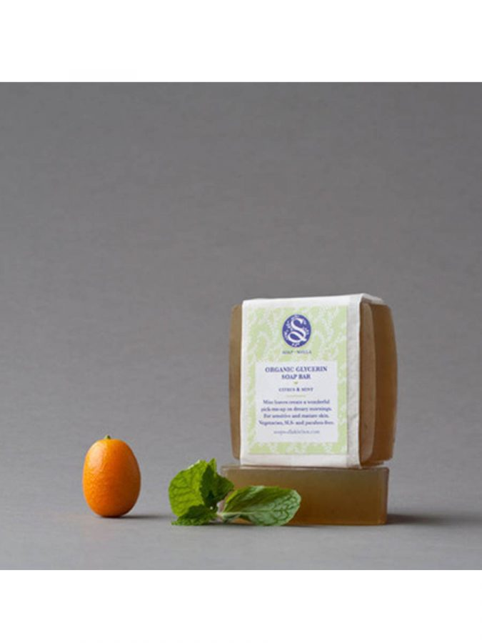 Soapwalla Kitchen Citrus Minz Seife