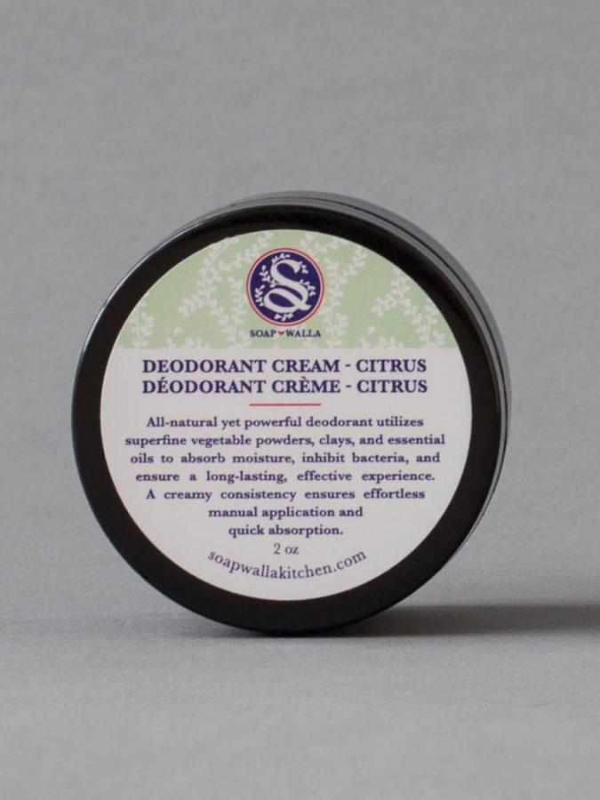 Soapwalla Kitchen Original Deodorant Creme Citrus g