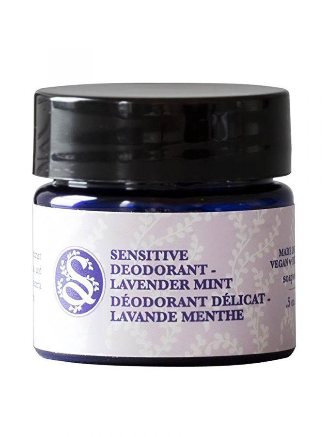 Sensitive Deodorant Cream Lavender Mint 15g Travel Size