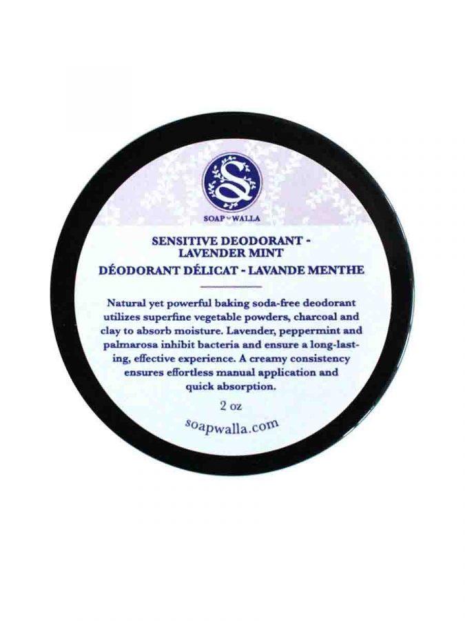 Sensitive Deodorant Cream Lavender Mint 59ml