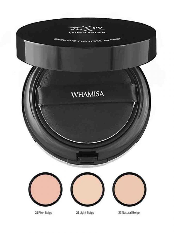 Whamisa BB Pact LSF PA Natural Expression BB Puder Natural Beige g