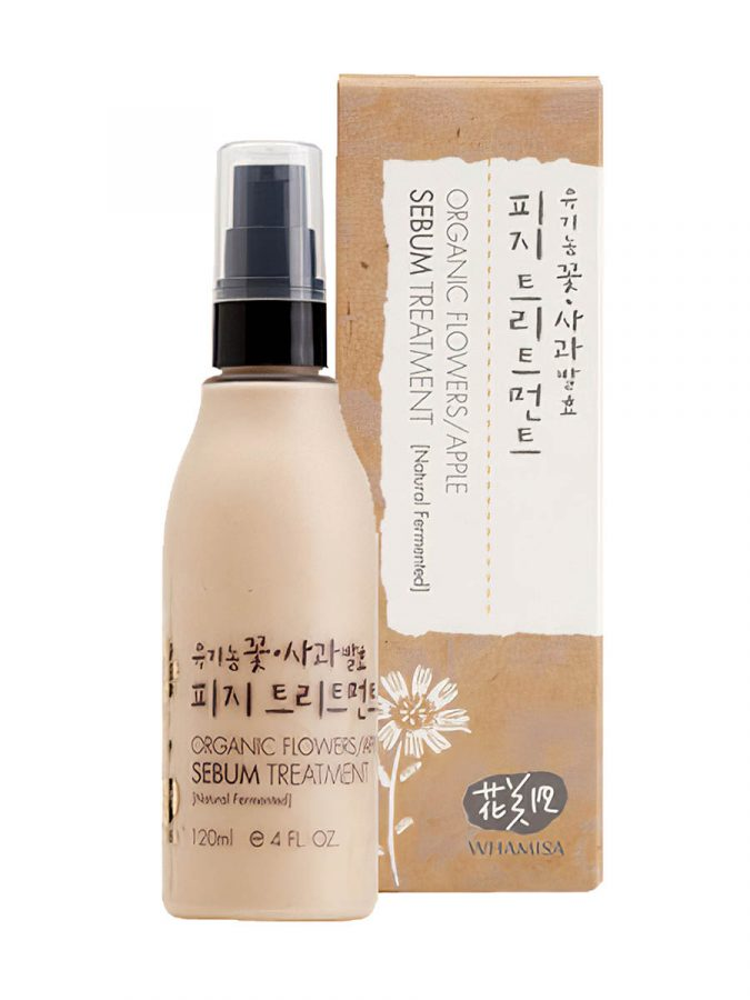 Organic Flowers Apple Sebum Treatment 120ml