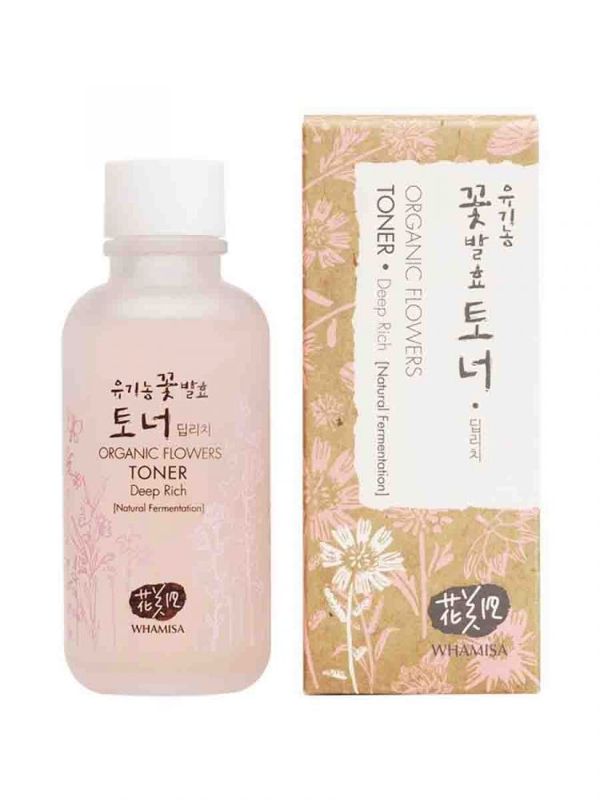 Organic Flowers Deep Rich Toner 120ml