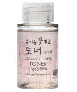 Organic Flowers Deep Rich Toner Mini 20ml