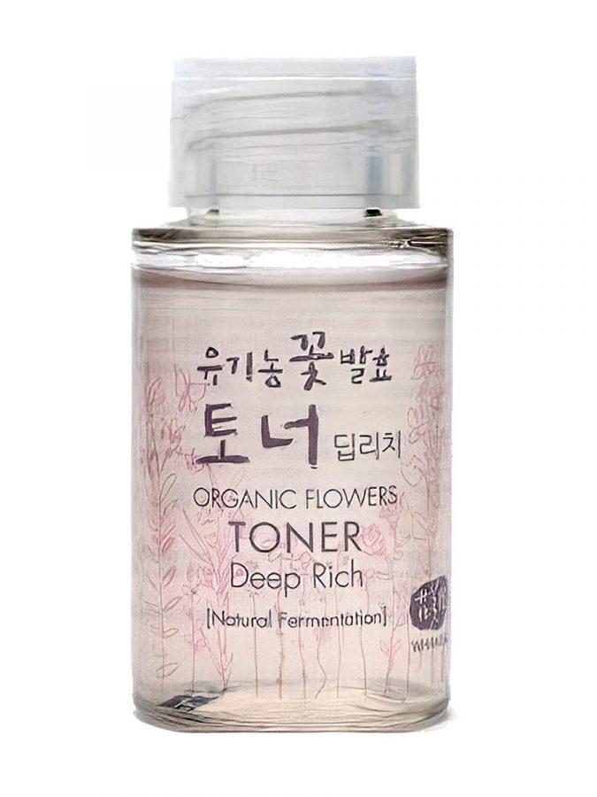 Organic Flowers Deep Rich Toner Mini 20ml