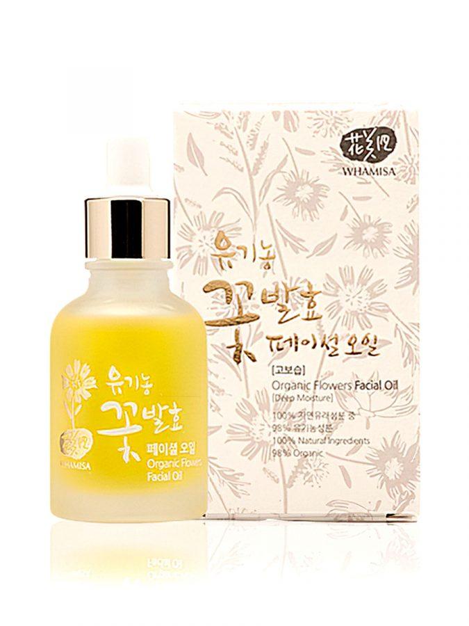 Organic Flowers Facial Oil 30ml