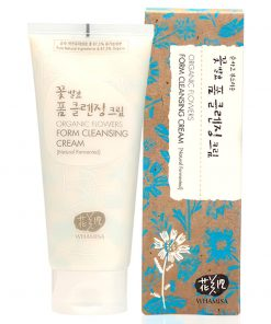 Organic Flowers Foam Cleansing Cream Reinigung 200ml