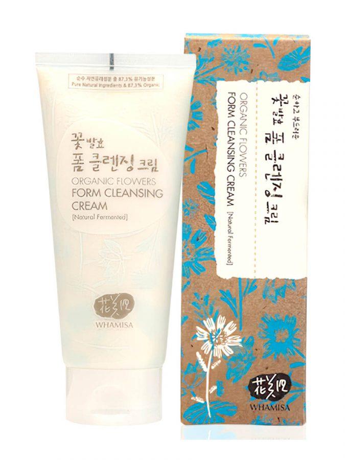 Organic Flowers Foam Cleansing Cream Reinigung 200ml