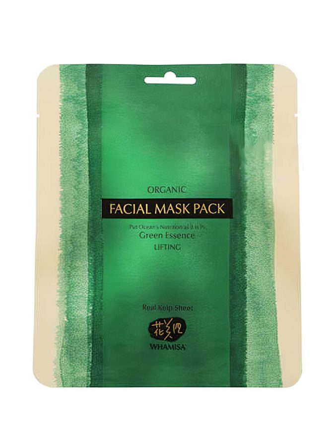 Organic Sea Kelp Facial Sheet Mask Algenmaske 33g