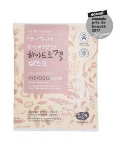 Organic Seeds & Rice Hydrogel Mask Sheet Maske 33g