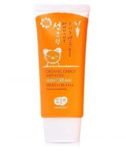 Organic Baby & Kids Sun Cream SPF 50 60g