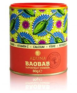 Baobab-Pulver lose 80g
