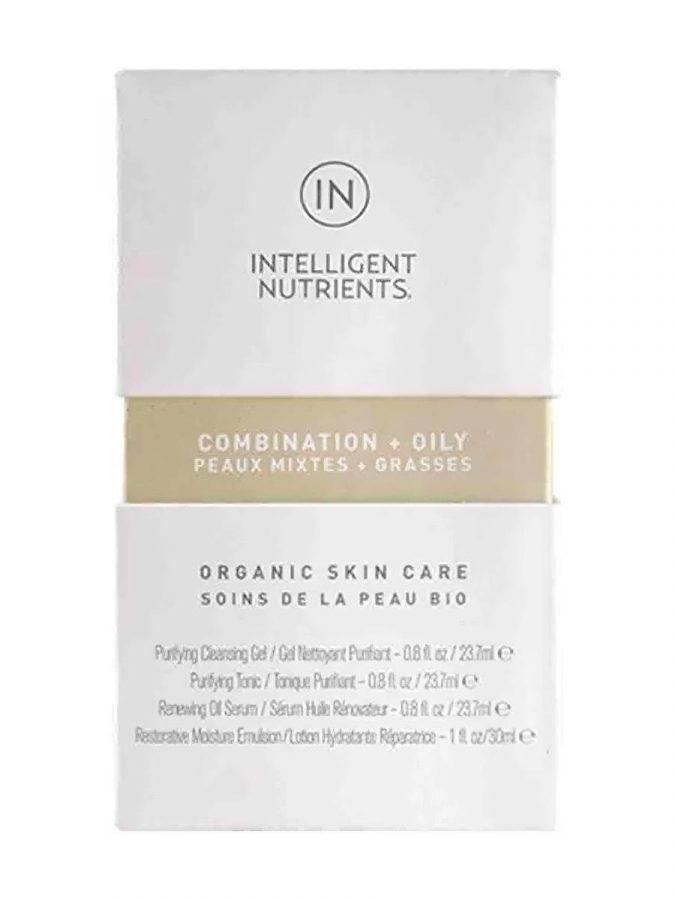 COMBINATION + OILY Organic Skincare Travel Set