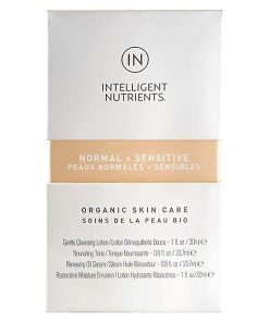 NORMAL + SENSITIVE Organic Skincare Travel Set