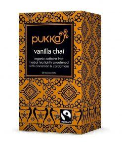 Vanille Chai Tee auf Kräuterteebasis
