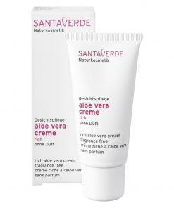 Aloe Vera Creme Rich ohne Duft 30 ml