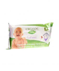 Organyc Bio Baby-Feuchttücher (60 Stk.)